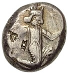 Siglos - Darius II / Artaxerxes II - 423-358 BC (THE ROYAL COINAGE - 4th type B - middle) -  obverse