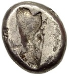 Siglos - Darius II / Artaxerxes II - 423-358 BC (THE ROYAL COINAGE - 4th type B - middle) -  reverse