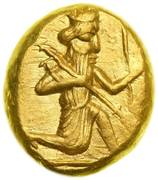 Daric - Darius I / Artaxerxes II - 522-358 BC (THE ROYAL COINAGE - 3rd type) -  obverse