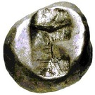 Siglos - Darius I - 522-486 BC (THE ROYAL COINAGE - 1st type) – reverse