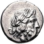 Hemidrachm (Antigoneia) – obverse