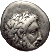 Hemidrachm (Corinth) – obverse