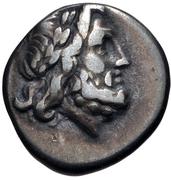 Hemidrachm (Antigoneia) -  obverse