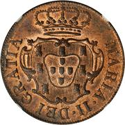10 Réis - Maria II (London mint) – obverse