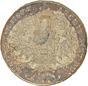 1200 Réis - Luis I (Big Crown countermark over 1 Thaler - Maria Theresa; Austria) – reverse