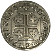75 Réis - Maria I – reverse