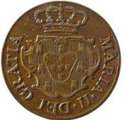 5 Réis -  Maria II (London mint) -  obverse