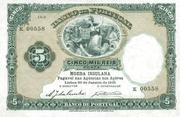 5000 Reis (5 Mil Reis) – obverse