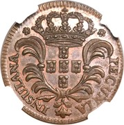 3 Réis - José I – obverse