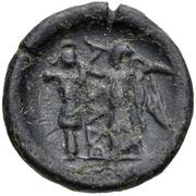 Bronze Æ18 – reverse