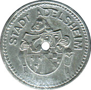 10 Pfennig - Adelsheim – obverse