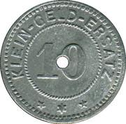 10 Pfennig - Adelsheim – reverse