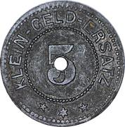 5 Pfennig - Adelsheim – reverse