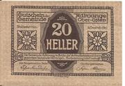 20 Heller (Adlwang) – obverse