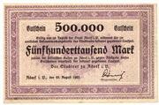 500,000 Mark – obverse
