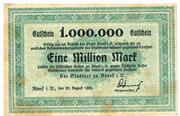 1 000 000 Mark – obverse