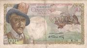 50 Francs (D'Esnambuc) -  obverse