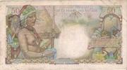 50 Francs (D'Esnambuc) -  reverse