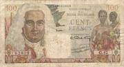 100 Francs (La Bourbonnais) – obverse