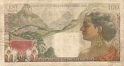 100 Francs (La Bourbonnais) – reverse