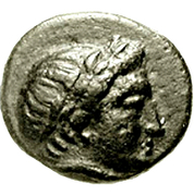 Bronze Æ10 (Aegae, Aeolis) – obverse