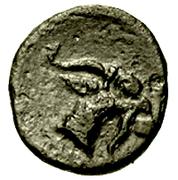 Bronze Æ10 (Aegae, Aeolis) – reverse