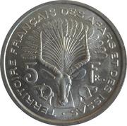 5 Francs – reverse