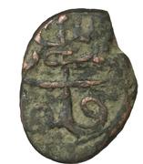 1 Falus - Mahmud Shah (Kabul mint) -  reverse