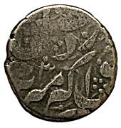 ½ Rupee - Dost Muhammad (Ahmadshahi Mint) -  obverse