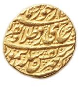 Mohur - Taimur (Ahmadshahi-Qandahar mint) -  obverse