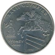 50 Afghanis (Sydney Olympiad) -  reverse