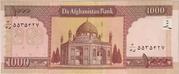 1 000 Afghanis -  reverse