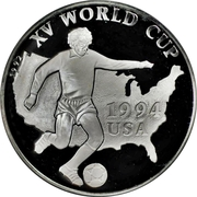 500 Afghanis (XV World Cup USA 1994) – reverse