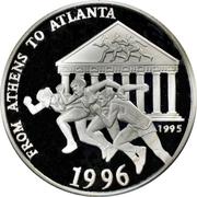 500 Afghanis (XXVI summer Olympic Games, Atlanta 1996) – reverse