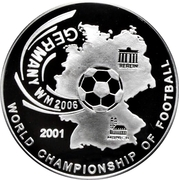 500 Afghanis (2006 FIFA World Cup) – reverse