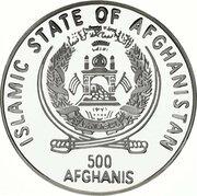 500 Afghanis (Giuseppe Verdi) -  obverse