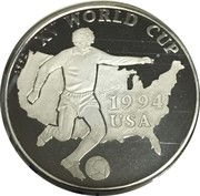 500 Afghanis (XV World Cup 1994 USA) -  reverse