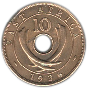 10 Cents - Edward VIII – reverse