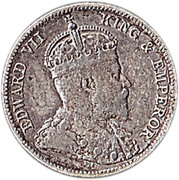 25 Cents - Edward VII – obverse