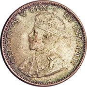 50 Cents / 1 Shilling - King George V – obverse