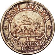 1 Florin - George V – reverse