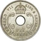 10 Cents - Edward VII – obverse