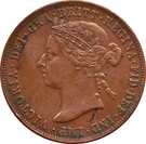 1 Pice - Victoria (East Africa Protectorate) – obverse