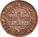 1 Pice - Victoria (East Africa Protectorate) – reverse