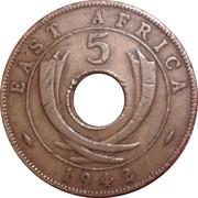 5 Cents - George VI -  reverse