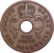 10 Cents - Elizabeth II -  obverse