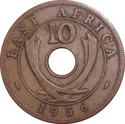 10 Cents - Elizabeth II -  reverse