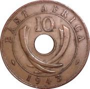 10 Cents - George VI -  reverse
