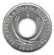 ½ Cent - Edward VII – reverse
