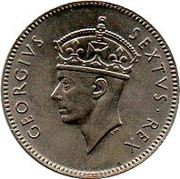 50 Cents - George VI -  obverse